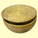 Wicker Fruits Basket with Lid