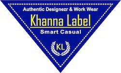 Men Apparel Printed Labels