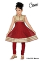 Maroon Color Dress For Girls