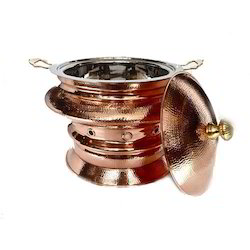 Copper Mumtaz Mahal Chafing Dish