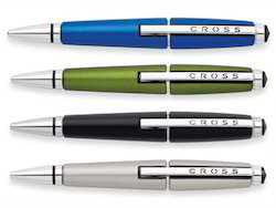 Plastic Black Cross Ball Point Pen, For Writing Signature, Packaging Type: Box