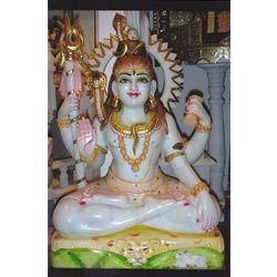 Shankar Marble Statue