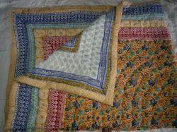 Handmade Jaipuri Printed Quilt