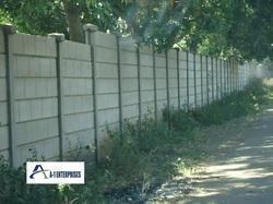 RCC Boundary Compound Wall