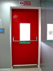 Fireproof Emergency Door & Fireproof Emergency Door at Rs 15000 /piece(s) onwards | Fire Proof ...