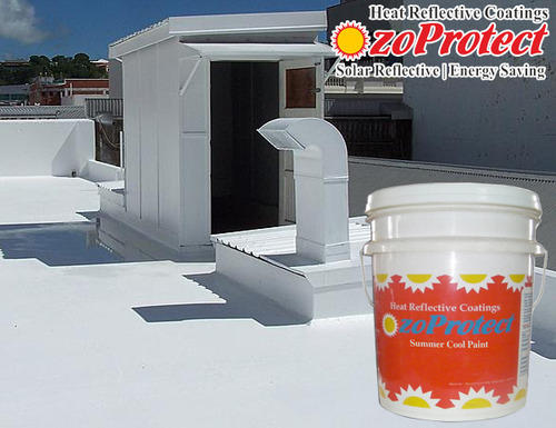 Cool Roof Paints Ozoprotect Tc कूल रूफ पेंट Monarch Industrial