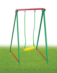 Plastic Playground Equipment Single Swing