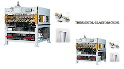 Thermocole Making Glass Cup Machine