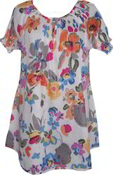Floral Tunic Dresses