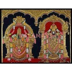 Balaji Padmavati Tanjore Paintings
