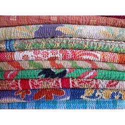 100% Cotton Kantha Quilts