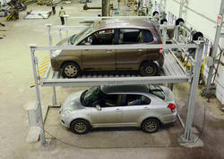 Four Leg Car Stack Parking System(Independent)