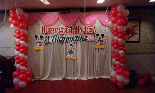 birthday hall decoration My Web Value
