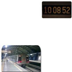 LED Clock for Railway Stations