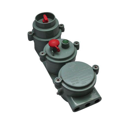 16 A Flameproof Rotary Switch Push Button  Flameproof