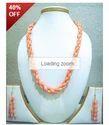 Corals Tulips Stone Jewelry