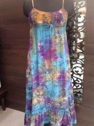 Tie & Dye Long Gown
