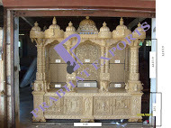 Wooden Temple with Light Golden Polish