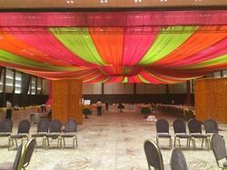 Truss With Draping Decoration