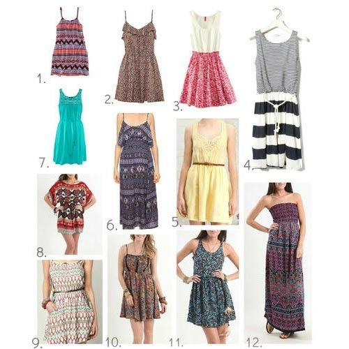 Ladies Dresses Summer Dresses Manufacturer From Thane