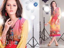 Digital Print Kurties
