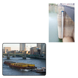 FRP Gauge Plates for River and Canals