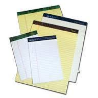 Custom offset Printed Scribbling Pads