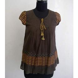 Ladies Brown Top