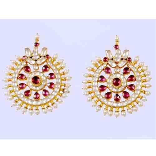 Buy Chand Bali Earrings Design Style Kundan Fashion Teena S