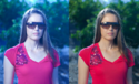 Color Correction Image Retouching