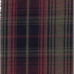 NGAMC1053F Indigo Yarn Dyed Checks Fabric