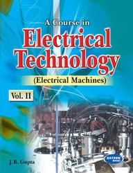 Engineering Book Course in Electrical Technology
