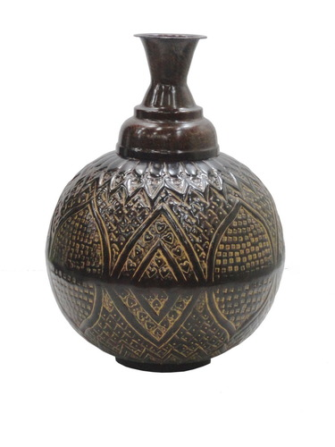 Iron Traditional Flower Vase Exotic India Id 4914116897