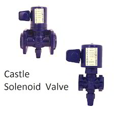 Castle Ammonia Solenoid Control Valve, For Industrial, Packaging Type: Box