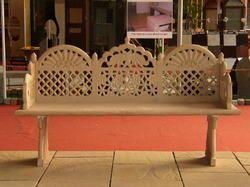 Stone Jali Sofa