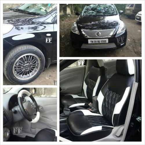 Car Seat Cover For Nissan Sunny Customized Feel