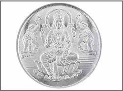 Laxmi Silver Plated Coin