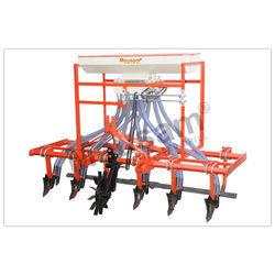 Six Row Rigid Cultivator Seed Cum Fertilizer Drill