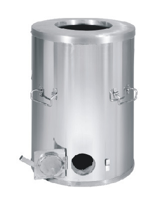 Stainless Steel SS Round Drum Tandoor, For Commercial