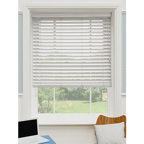 White Pure Wood Blinds