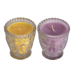 Fancy Glass Candles