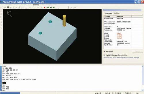 seeNC: Manual CNC Program Simulation Software - Cadem