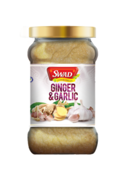 Swad Ginger and Garlic Paste, Packaging: Plastic Bottle