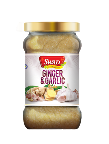 Swad Ginger and Garlic Paste, Packaging:  Plastic Bottle