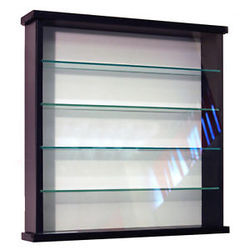 modular wall display cabinet