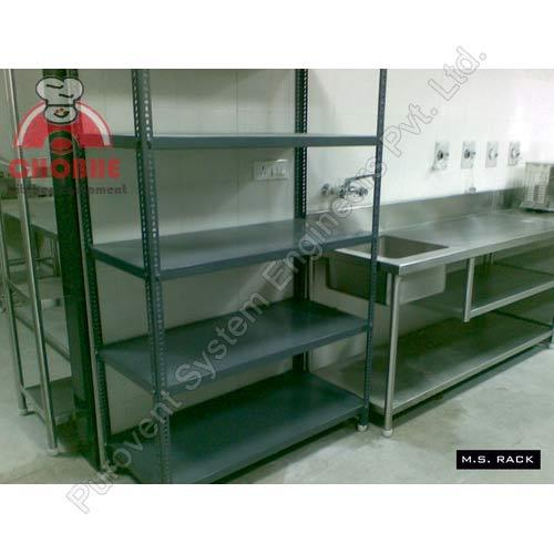 Dry Storage Equipment Ms Rack Manufacturer From Pune