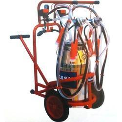 Milking Bucket Trolley Double Milking