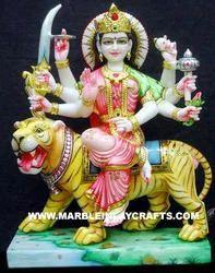 Marble Durga Maa Goddess Statue