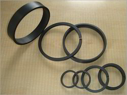 PTFE and Carbon Filled Rings