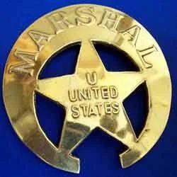 Marshal US Badge